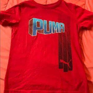 Other - Boys puma shirt